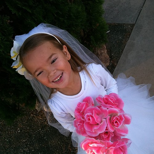 happy Halloween bride