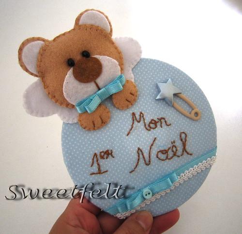 ♥♥♥ Mon 1er Noel rapaz! by sweetfelt \ ideias em feltro