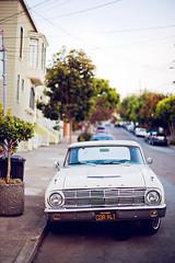 San Francisco, how I love thee. (Jinna van Ringen) Tags: sanfrancisco ford vintagecar 50mm14 frisco carlzeiss vintageford jorindevanringen jinnavanringen chanderjagernath jagernath jagernathhaarlem