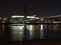 Tate and the Millenium Bridge (failing_angel) Tags: london tatemodern milleniumbridge riverthames bankside banksidepowerstation sirgilesgilbertscott siranthonycaro arupfosterandpartners 270911