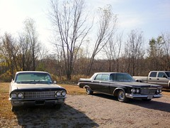 63 Imperial LeBaron & 62 Cadillac Sedan de Ville (DVS1mn) Tags: two black cars hardtop car three gm 63 cadillac imperial chrysler mopar marques luxury 1962 62 caddy sixty nineteen 1963 sedandeville generalmotors prestige lebaron wpc chryslerimperial walterpchrysler 4door chryslercorporation nineteensixtytwo nineteensixtythree