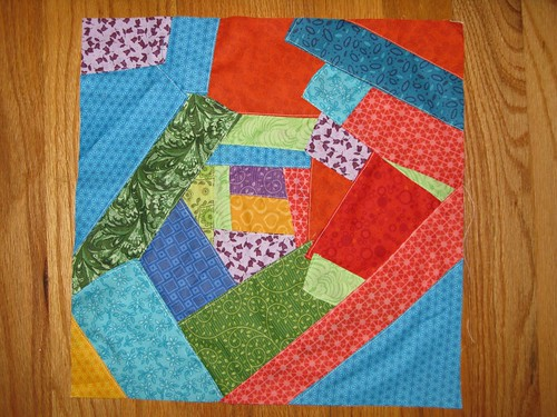 Crazy Quilt, Block 14 (my 15)