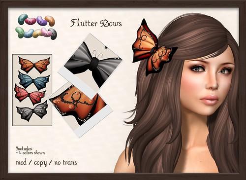 ::CB:: Flutter Bows - Lazy Sunday