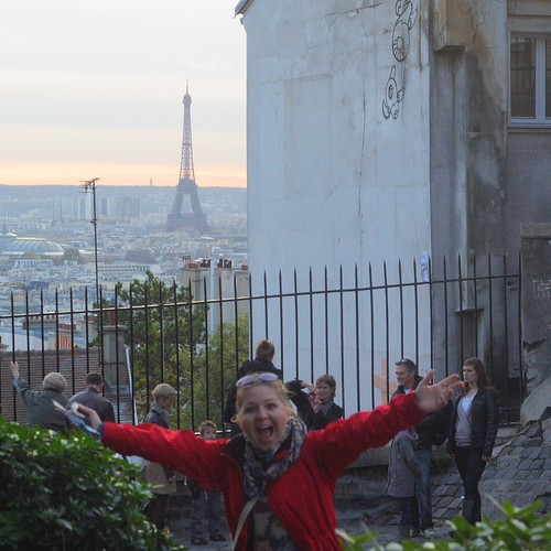 Eiffel Tower + Nicoline
