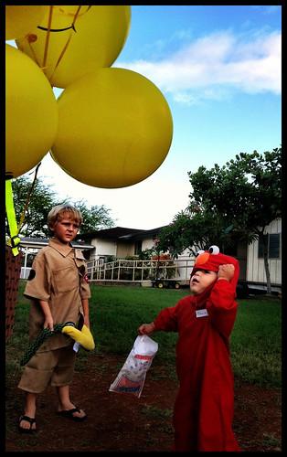 I want a ballon!!!