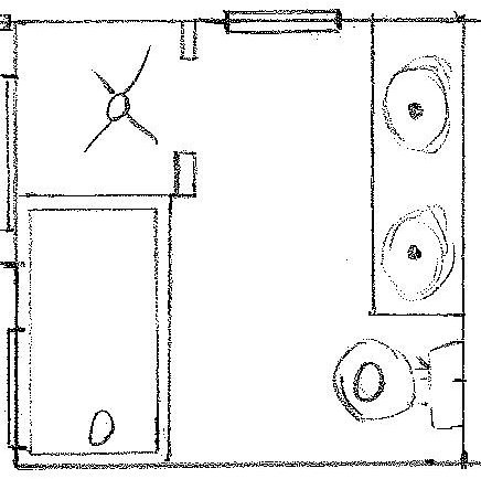 Plan 1 Second Floor Bathroom