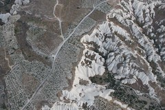 Composition in geology (10b travelling) Tags: abstract texture ctb trek turkey europa europe pattern walk turkiye balloon flight middleeast aerialview nopeople structure ten hotairballoon geology carsten cappadocia capadoccia brink kapadokia goreme turchia kapadokya fairychimney capadocia turkei 10b cmtb tenbrink carstentenbrink iptcbasic