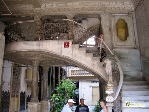 Grand Staircase - La Guarida - Paladar - Havana Cuba