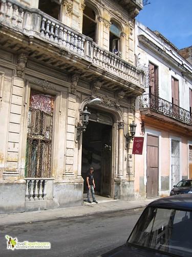 entrance to La Guarida - Paladar - havana centro cuba
