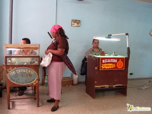 Watch Fixing Shop - Havana Vieja - Cuba