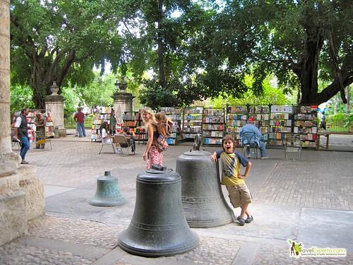 Kid Fun with Bells Havana Vieja Cuba
