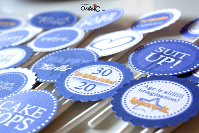 DIY: Make your own Cupcake Toppers (incl. free printable)