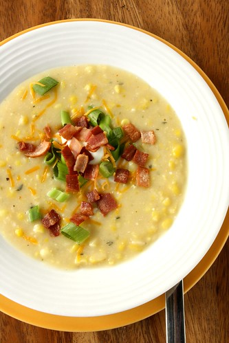 Spicy & Slightly Decadent Corn Chowder - Suzie the Foodie