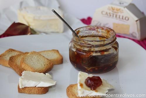 Mermelada de tomate a la vainilla con queso blanco arla (10)