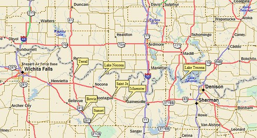 Texoma Map