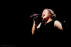The joy of singing (Jrme Pierson) Tags: china city light brazil musician music france nova french photography anne freedom hall concert energy shanghai singing emotion live stage joy jazz blues happiness scene sing soul musica singer microphone feeling   musik presence diva joie jazzy rhythm chine musique bossa chanteuse  cantar   musicienne   franaise     evenou