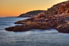 Acadia National Park, Maine (Greg from Maine) Tags: ocean seascape nature landscape nationalpark twilight maine newengland shore barharbormaine acadia barharbor mountdesertisland mdi acadianationalpark ottercreek rockycoast ottercliff