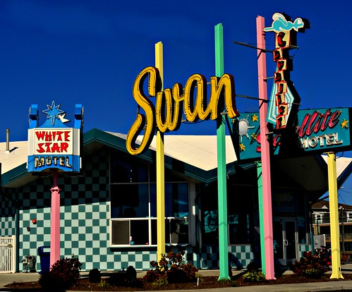 Wildwood NJ, Doowop Motel Signs