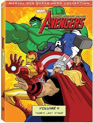 Avengers Vol. 4 DVD art