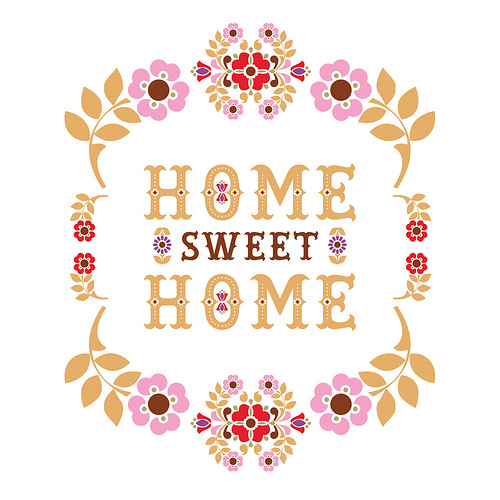Home Sweet Home by One Little Bird