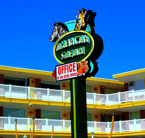 American Safari Motel, Wildwood NJ
