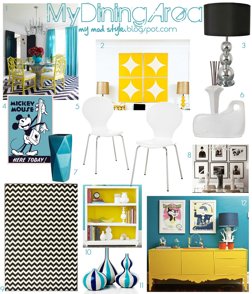 My Dining Area Inspiration Board
