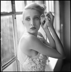 Olga XI (__Daniele__) Tags: portrait 6x6 film monochrome square blackwhite kodak trix hasselblad analogue schwarzweiss 320