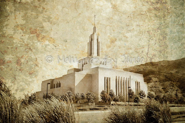 Draper Vintage LDS Temple Prints -2