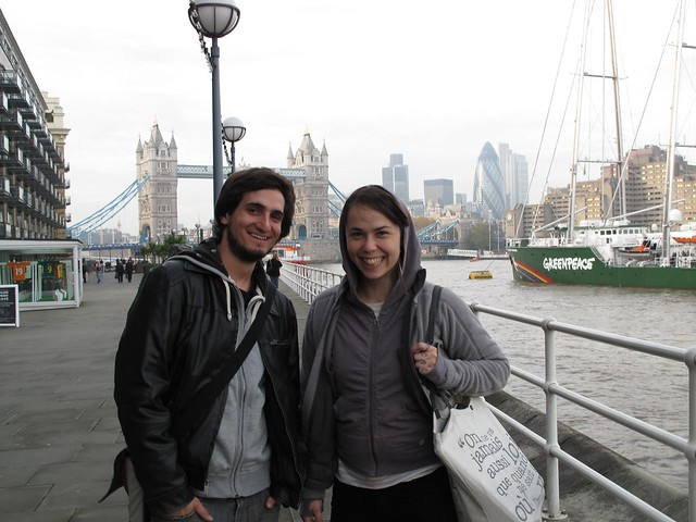 Pablo and Seychelle, London
