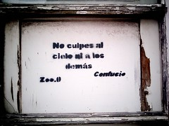 Graffiti. Santa Cruz de Tenerife 12 de noviembre 2011