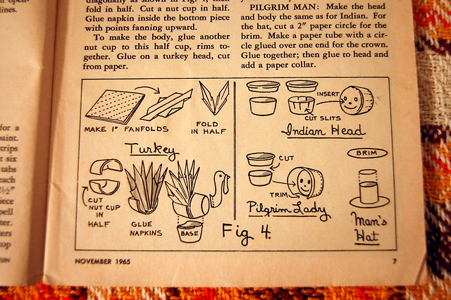 vintage thanksgiving inspiration: pack o' fun, november 1965.