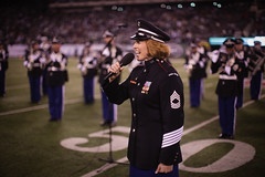 United States Military Academys West Point Band plays New York Jets halftime show, Nov. 13, 2011 (NYCMarines) Tags: coastguard usa usmc soldier football newjersey marine uniform flag military jets nfl band nj places meadowlands airforce westpoint usarmy eastrutherford unfurl militaryacademy militaryappreciationgame