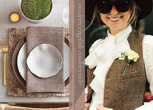 modern english countryside tabletop inspiration fall