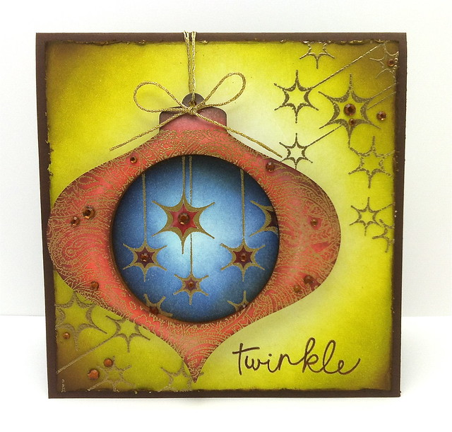 Removable Ornament Card