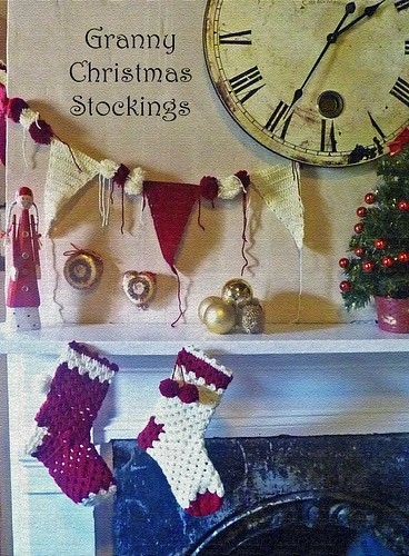 Granny Christmas Stockings