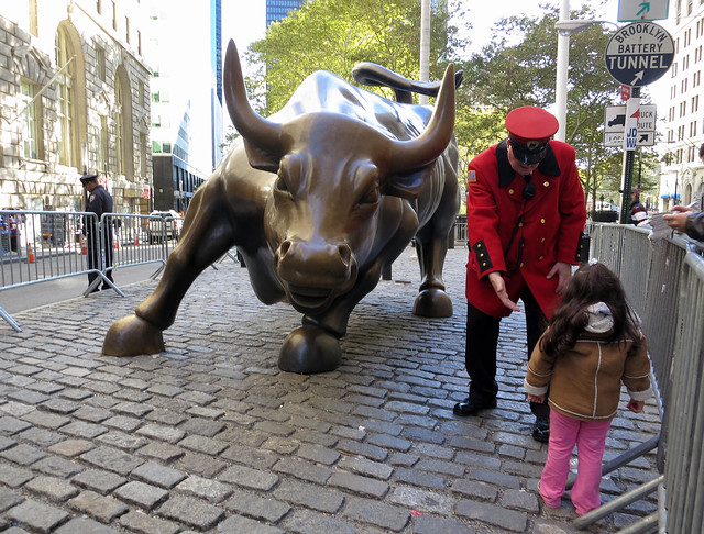 Come Say Hello To The Wall Street Bull