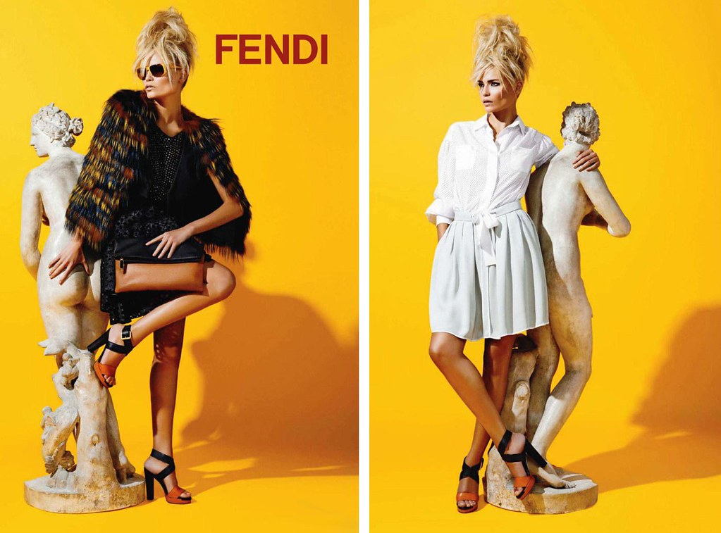 Fendi Resort 2012 Natasha Poly by Karl Lagerfeld