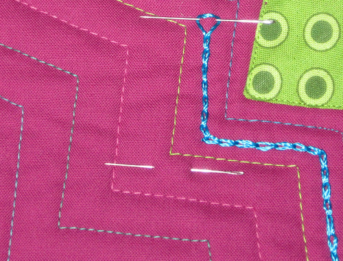 chain stitch wip