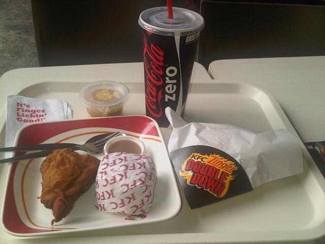 KFC Double Down Zinger