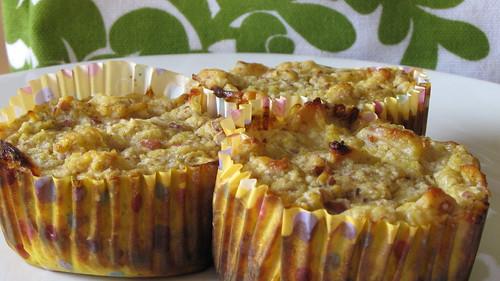 squash, banana and apple muffins!