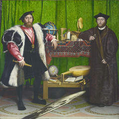 Hans Holbein dJ - The Ambassadors (1533) (petrus.agricola) Tags: london high gallery image hans national resolution der ambassadors younger holbein jngere