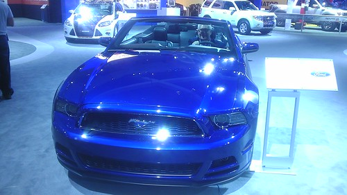 The Mustang at Los Angeles Auto Show