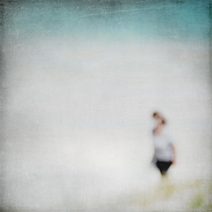 Embracing Summer! (m-YC(...away...)) Tags: ocean blue sea summer white blur art texture beach sunshine square relax aqua solitude loneliness fresh lonely breeze embrace impression beachwalk strolling deepbreath awonderfulday kimklassen