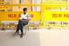 (Luqman Marzuki) Tags: india delhi police x100 roadblockage mantosz