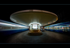 no parking @ paradeplatz zurich (Toni_V) Tags: leica city longexposure motion blur architecture night schweiz switzerland movement europe suisse voigtlaender tripod zurich tram rangefinder toilet raumschiff wc spaceship 12mm zrich enterprise bahnhofstrasse m9 tramstation ultrawideheliar paradeplatz 2011 vbz greatphotographers messsucher 111120 gitzogt1540 toniv sundaymorningphototour leicam9 mygearandme mygearandmep