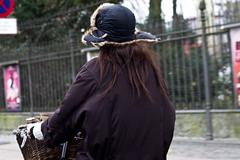 Winter Hat (Mikael Colville-Andersen) Tags: winter hat fashion bike bicycle copenhagen denmark cycling blog danish bici chic mode danmark kopenhagen fahrrad vélo københavn sykkel cykel flaps bicicletta copenhague cykling streetstyle girlsonbikes cyclechic copenhagencyclechic cykelpige velopassioncc