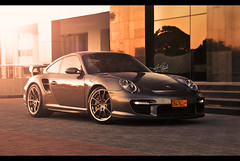 The Unknown - Porsche GT2 (srt10_psycho) Tags: sun car sport sepia nikon uae exotic mohammed arab porsche kuwait nikkor rims oman 2008 muscat gt2 2010 waheed 2011 18200mm d3000 weedoz