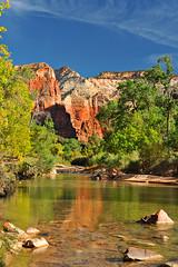 Virgin River 3 - Zion N.P. (Greg Earl Photography) Tags: arizona colorado grandcanyon arches mesaverde coloradoriver canyonlands moab zionnationalpark brycecanyon monumentvalley virginriver springdale