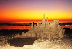 Sandcastles, Sunsets, and UFO's, Oh My! (RicknDP) Tags: ocean sunset sea sky metallic invisible sunsets ufo spaceship nightsky ritzcarlton flyingsaucer southerncalifornia orangecounty sanclemente danapoint sandcastle sleek spacecraft lagunabeach stregis cloaked witnesses lagunaniguel cresentmoon flyingsaucers saltcreekbeach colorfulskies beautifulsunsets alienspacecraft strandsbeach alienspaceships catalinachannel massufosightings underwaterufos