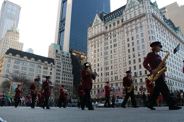 Marching Past the Plaza Hotel